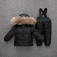 이 두꺼워 코트 눈 마모 스키 정장 T191026 파카 소년 2019 새로운 겨울 자켓 어린이 의류 세트 아기 유아 여자 아이 다운 옷