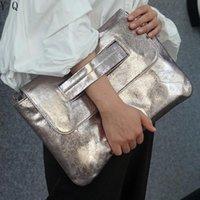 Mode Femmes Brillant Embrayage Grand Capacité Bandoulière Sacs pour Femme Sac à main Dames Sac d'ordinateur portable pour sac de poche MacBook