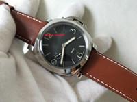 LIVRAISON GRATUITE Topselling Haute Qualité Montres en acier inoxydable Qualité 47mm Mechanical Transparent TRANSPARENT Hommes Montres de montre 127