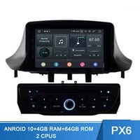 PX6 1DIN Android 10.0 Auto DVD Player for Megane Fluence 2009 2010 2011 GPS navigation wifi multimediale auto radio Autoaudio 4G + 64G1