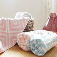 New 2 pieces face towel set microfiber quick drying towel so...