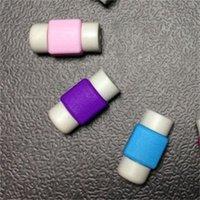 Силиконовое зарядное устройство USBCOVER Мобильный телефон Линия данных Anti Cracture Wireorganzers Candy Color Block ProtetiveCase Recyclable Hot Sale 0 08ys F2