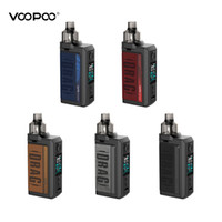 Autentica Voopoo DRAG Max 177W TC Pod Mod Kit Powered By doppio 18650 Con PNP serbatoio compatibile All PnP bobine