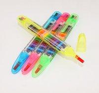 Kreative Schreibwaren Bunte Buntstifte 20 Farben Grundschule Kinder Multifunktionale Malerei Graffiti Stift Öl Pastellstift