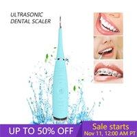 UKLISS USB de Sonic raspador dental de dientes eléctrico limpiador removedor de sarro de los dientes ultrasónico dental removedor de dientes de la máquina limpiador