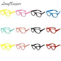 50pcs lot Kids Anti Blue Light Blocking Glasses Frame TR90 Safety Children Girls Boys Silicone UV400 Eyewear Eyeglasses Wholesal