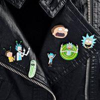 1000 различных моделей мультфильм иконки стиль детский булавка гений Mad ученый значок кнопки брошь аниме любовники джинсовая рубашка лавочки