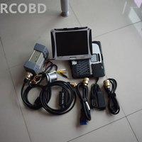 Диагноз MB STAR STAR C3 с программным обеспечением HDD 120GB с сенсорным экраном CF19 ноутбука готов к использованию 2 года гарантия1