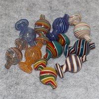 유리 버블 모자 물 담뱃대 25mm 28mmod 지향성 carb 모자 베벨 ed 가장자리 쿼츠 banger 손톱 흡연 봉지 장비