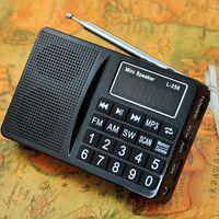 L-258 Multi Vollbereich- Fm Am Mw Sw Funkempfänger, MP3-Player von der TF-Karte und USB-Flash-Laufwerk