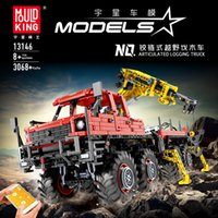 APP RC Technic Series Bricks MOC Articulated Logging Trucks Car Construction City Building Blocks Compatible lepining Model Toys X0102