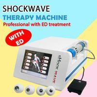 2020 Nueva terapia de onda de choque enfocada Equipo de belleza Terapia de onda de choque acústico Dolor musculoesquelético o tratamiento de ED