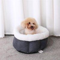 أرقام الكلاب الكلاب الكلاب سرير الدفارة الداخلية المواد الناعمة كيس النوم وسادة جرو بيت الكلب