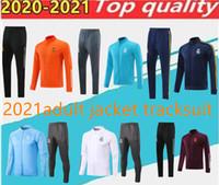 2020 2021 Real Madrid Football Sportswear Jacket Set. Costume d'entraînement de football de Chandal Alexis, costume de vêtements de sport, costume de jogging de Chandal