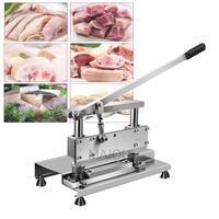 Manuel Scie coupe os en acier inoxydable Machine de coupe d'os de porc Chop Trotters viande Slicer Machine de fabrication