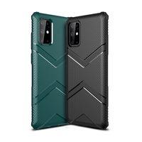 Estuche a prueba de golpes para Samsung Galaxy S20 Plus S10 Lite Note 10 Funda para Huawei P30 Lite Mate 30 Pro Coque Slim