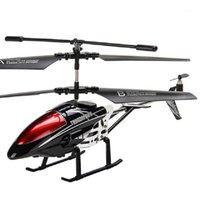 Дроны Наверное Вертолет Вертолет 3.5 CH CH Радиоуправление со светодиодным Светом RC Детская подарок Безумленные летающие игрушки Model1