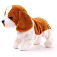 Kids Electronic Dogs Flap Control Interactive Electronic Pets Bark Stand Walk Electronic Toys For Children Funny Dog Toys LJ201105