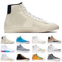 Moda Blazer 77 Erkek Kadın Koşu Ayakkabıları Yelken Kumquat Dorothy Gaters Hack Paketi İyi Bir Oyun Erkek Eğitmen Spor Sneakers