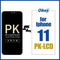 iPhone11 Parts için 3D Dokunmatik Ekran Sayısallaştırıcı Meclisi Değiştirme Üst Kalite iPhone 11 Retina LCD Ekran