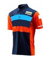Motorrad Reiten Schnelltisch Kurzarm Racing T-Shirt Benutzerdefinierte Outdoor Reiten Kurzarm Polo Team Uniform