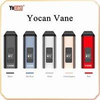 Yocan Vane Main Kit Dry Herb Vaporizer Kits kommer med 1100mAh batteri keramisk uppvärmningskammare OLED Display design