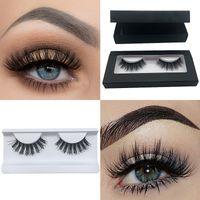 YOKPN Flip Cover 3D Mink False Eyelashes Pure Handmade Mink Eye Lashes Makeup Lashes 3D Magnet Box Fake Eyelash 15 Styles
