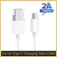 Typ C USB-Kabel 100 cm 1m 3ft Schnelles Ladekabel-Kabel echtes 2A für Huawei p30 pro Samsung S10 plus Anmerkung 9 Note10 PRO S8