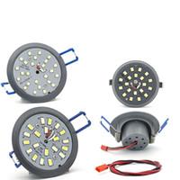 실내 조명 LED 조명 샹들리에에 대 한 Downlights 펜던트 램프 전구 천장 조명 3W 5W2 2835SMD 스포트 라이트