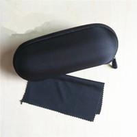 블랙 원 천 커버 선글라스 케이스 여성 남성 안경 상자와 EVA 지퍼 안경 안경 악세사리 케이스 팩