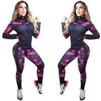 Luxurys 디자인 여성 운동복 Classial 편지 2 조각 복장 긴 소매 코트 재킷 + 바지 바지 의상 세트 가을 정장 의류
