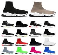2020 дизайнерские повседневные носки обувь женщина обувь мода сексуальные вязаные эластичные носки сапоги мужские спортивные ботинки большие