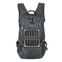Outdoor Tassen 3.25W 6V Sport Solar Backpack Opvouwbare Lichtgewicht Panel Charger Tas voor Traveling Wandelen met Power Bank