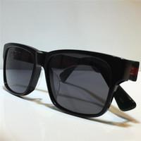 0340 Moda óculos de sol homens e mulheres quadrados placa de verão placa retangular quadro completo top proteção UV com capa protetora