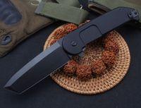 Qualidade superior BF2rct Flipper Dobrável N690 Black Tanto Blade CNC 6061-T6 Punho de alça Rolamento Sobrevivência Tático EDC Ferramenta Rescue Facas