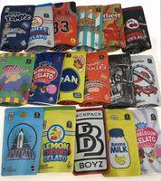 Top Fashion California SF 3,5g Geruchsweise Taschen Reißverschluss Packung Garrison Lane Gelato 41 Erdnussbutter Mintz Keine Kappe Zerbert Talian Ice