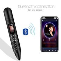 """Оригинальный сотовые телефоны Pen мини мобильный телефон 0.96"""" Крошечный экран GSM Dual SIM камера Фонарик Bluetooth Dialer мобильные телефоны с функцией записи ручкой"""