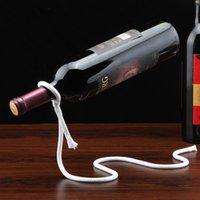 Cuerda mágica Rack de vino Botella de vino Rack Decoración familiar Restaurante Decoración Rack EUROPEO VINO Gabinete Decoración