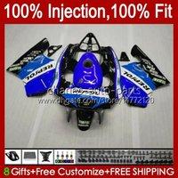 Injection pour Honda Mc28 Bleu Glossy PGM4 NSR250R 102HC.136 NSR 250 250R 94 95 96 97 98 99 NSR250 R 1994 1995 1996 1997 1998 1999 Farécences