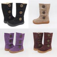 Livie Luca Kids Schuhe Mädchen Stiefel Kinder Schnee Mode Herbst und Winter 2020 von Leder Sneakers Kleinkind Mädchen J1209