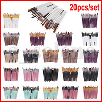 20pcs set Eye Makeup Brushes Professional Cosmetic Brush set...