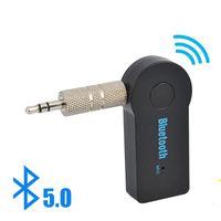 2 في 1 بلوتوث اللاسلكية 5.0 استقبال الارسال محول 3.5 ملليمتر جاك للسيارة الموسيقى الصوت aux a2dp سماعة reciever handsfree
