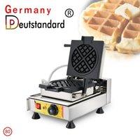 Ekmek Makineleri Stil Ticari Aperatif Makinesi Belçika Liege Waffle Makinesi Yapışmaz Döner Yüksek kaliteli fırın ekipmanları ile1