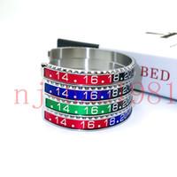 Designer di lusso Braccialetti di moda per le donne mens orologi orologi stile braccialetto di polsino di alta qualità acciaio inox uomo gioielli gioielli moda festa