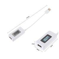 ЖК-экран мини творческий телефон USB тестер портативный доктор напряжение тока счетчик Mobile POW WMTOXX NEW_DHBEST