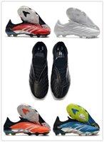 Para hombre de los tops zapatos de fútbol botas Predator Archivo Edición limitada FG Tacos de fútbol Predator Archivo FG fútbol