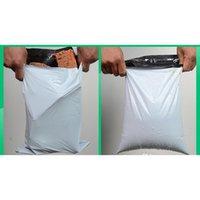 45 * 55 cm Beyaz Kendinden Mühür Posta Çantası Plastik Zarf Kurye Posta Posta Çantaları 9036 3B9O8