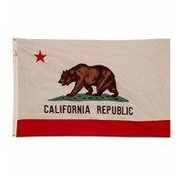 Kalifornien-Flagge Staat USA Banner 3x5 FT 90x150cm Festival-Party-Geschenk-Sport-100D Polyester Indoor Outdoor Printed Heißer Verkauf