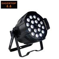 TIPTOP Nueva 18x18W RGBWA UV 6in1 llevó la luz de la igualdad zoom DMX 7/11 Canales Taiwán Leds CE ROHS cubierta 4 indicador digital del LED