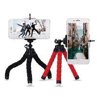 Tripods tripé para telefone monopod selfie remoto vara inteligente titular móvel bluetooth